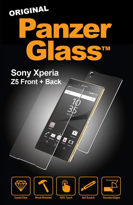 PanzerGlass Premium pro Sony Xperia Z5, čiré přední a zadní sklo