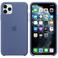 Apple silikonový kryt na iPhone 11 Pro Max, tmavě modrá