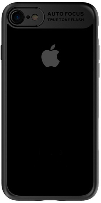 Mcdodo iPhone 7 Plus/8 Plus PC+ TPU Case, Black