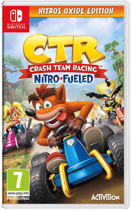 Crash Team Racing: Nitro Fueled - Nitros Oxide Edition (SWITCH)