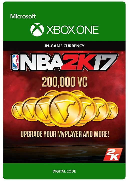 NBA 2K17 - 200,000 VC (Xbox ONE) - elektronicky