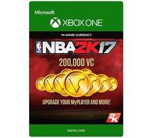 NBA 2K17 - 200,000 VC (Xbox ONE) - elektronicky