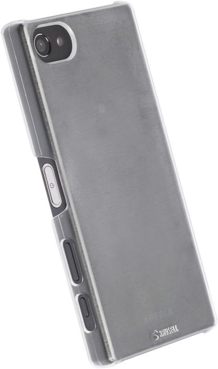 Krusell zadní kryt BODEN pro Sony Xperia Z5 Compact, transparentní bílá