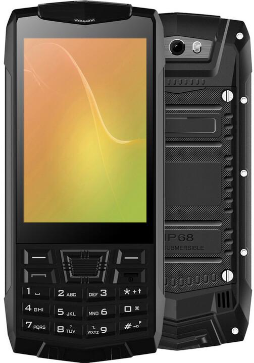 Cube 1 T1C - 8GB, Dual Sim, černá