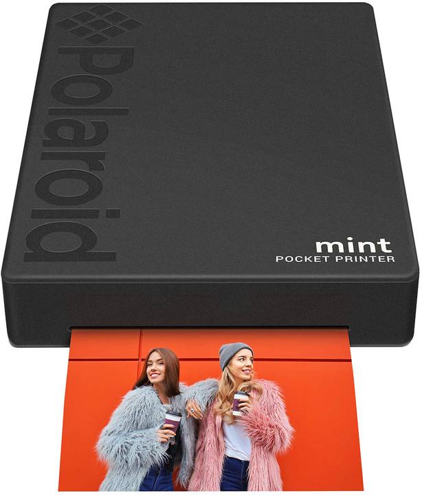 Polaroid Mint, černá
