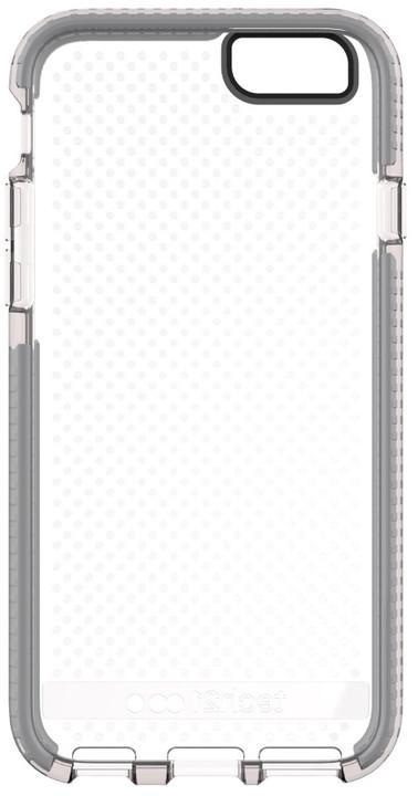 Tech21 zadní ochranný kryt Evo Mesh pro Apple iPhone 6, šedočirá