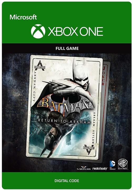 Batman: Return to Arkham (Xbox ONE) - elektronicky