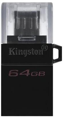 Kingston DataTraveler microDuo 3 G2 - 64GB, černá