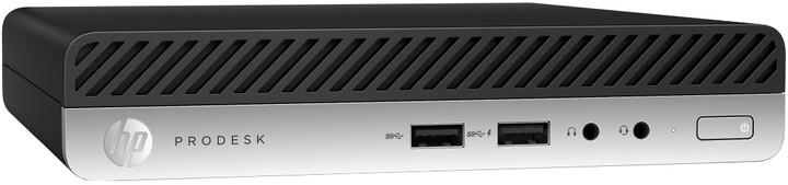 HP ProDesk 400 G5 DM, černá