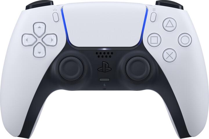 Sony PS5 Bezdrátový ovladač DualSense, bílý