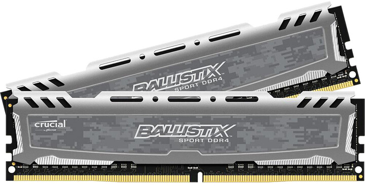 Crucial Ballistix Sport LT 16GB (2x8GB) DDR4 2400