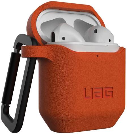 UAG silikonové pouzdro pro AirPods, oranžová