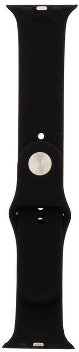 Tactical 488 silikonový řemínek pro Apple Watch 1/2/3/4/5/6/SE, 42/44mm, černá