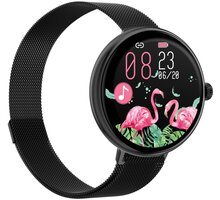 IMMAX chytré hodinky Lady Music Fit, černá - 09041