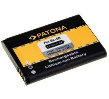 Patona baterie pro Nokia BL-5B 1000mAh 3,7V Li-Ion - PT3033