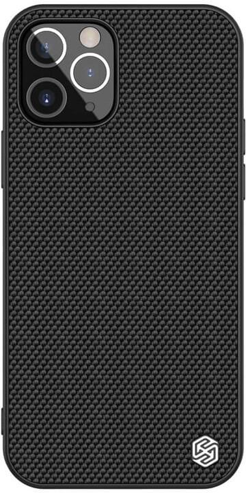 """Nillkin pouzdro Textured Hard pro iPhone 12/ 12 Pro (6.1""""), černá"""