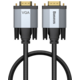BASEUS kabel Enjoyment Series VGA - VGA, 1m, šedá