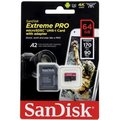 SanDisk Micro SDXC Extreme PRO 64GB 170 MB/s A2 UHS-I U3 V30 + SD adaptér