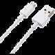 Xiaomi datový kabel s konektorem microUSB, bílá (Bulk)