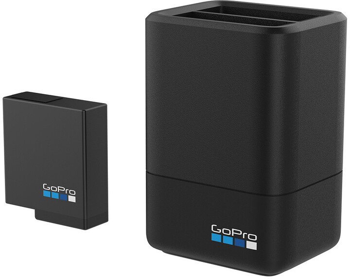 GoPro Dual Battery Charger + Battery (HERO5/6/7/8 Black)
