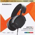 SteelSeries Arctis 3 (2019 Edition), černá