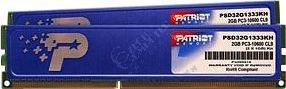 Patriot Signature Line 4GB (2x2GB) DDR3 1333 w/heatshield