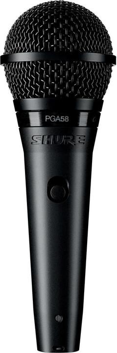 Shure PGA58-XLR, černá