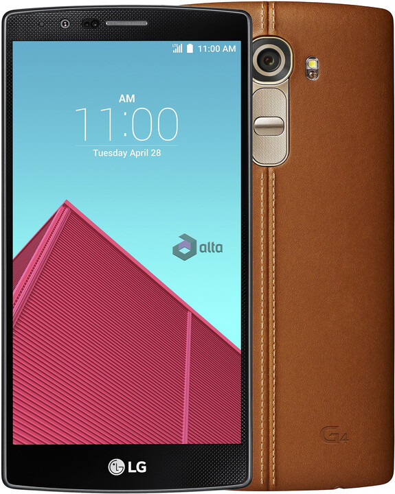 LG G4 (H818P), 3GB/32GB, Dual Sim, hnědá/leather brown