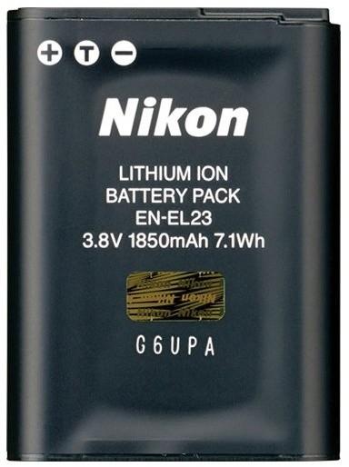 Nikon EN-EL23 dobíjecí baterie pro P600