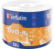Verbatim DataLife 4,7GB 16x, wrap 50ks - 43791
