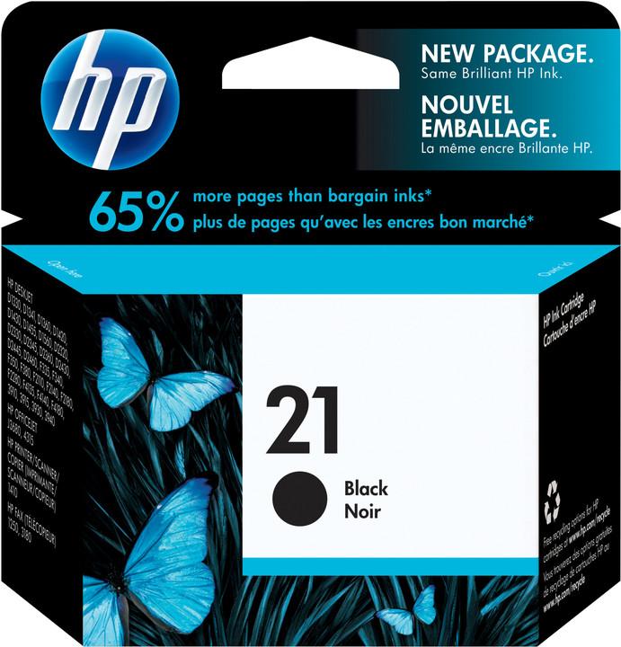 HP C9351CE, no. 21XL, černá – ušetřete až 50 % oproti standardní náplni