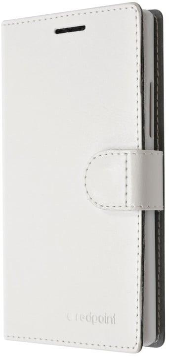 FIXED FIT pouzdro pro Lenovo Vibe P1m, kolekce RedPoint, bílá