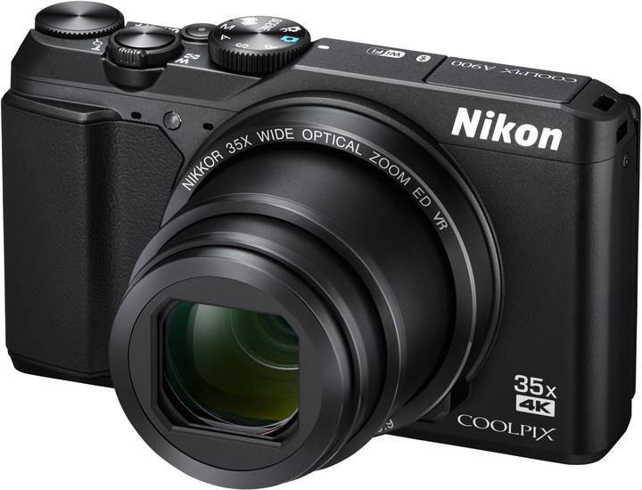 Nikon Coolpix A900, černá