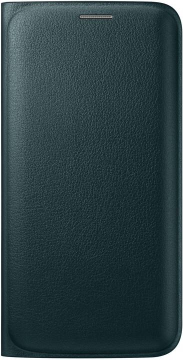 Samsung pouzdro EF-WG925P pro Galaxy S6 Edge (G925), zelená