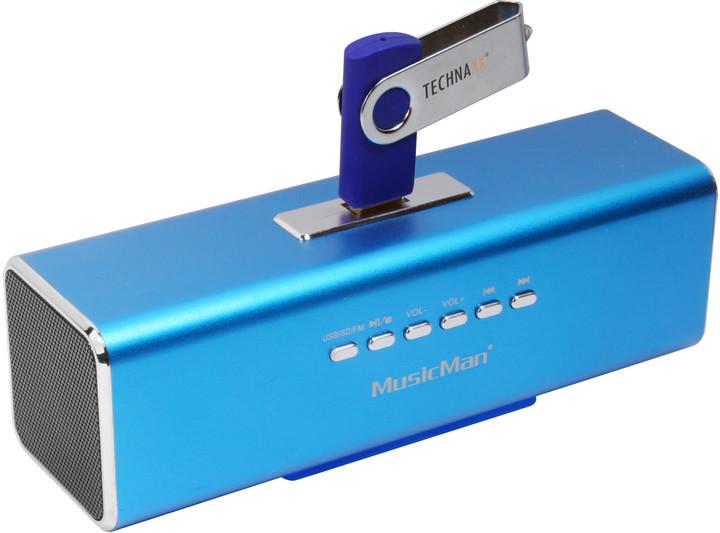 Technaxx MusicMan, modrá