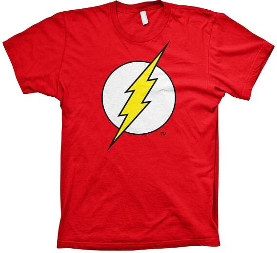 Tričko DC Comics: Flash Logo (XXL)