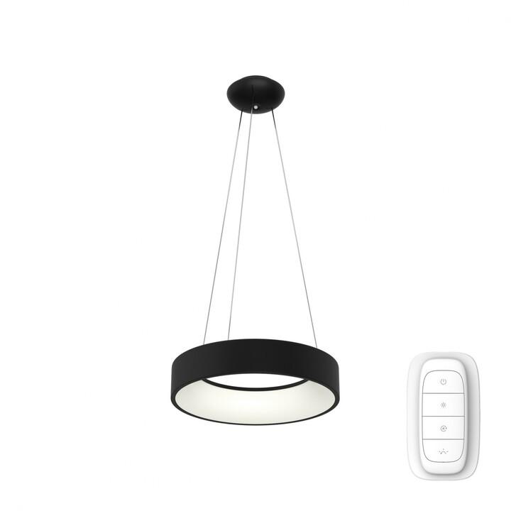 IMMAX NEO AGUJERO Smart závěsné svítidlo 60cm 39W, černá