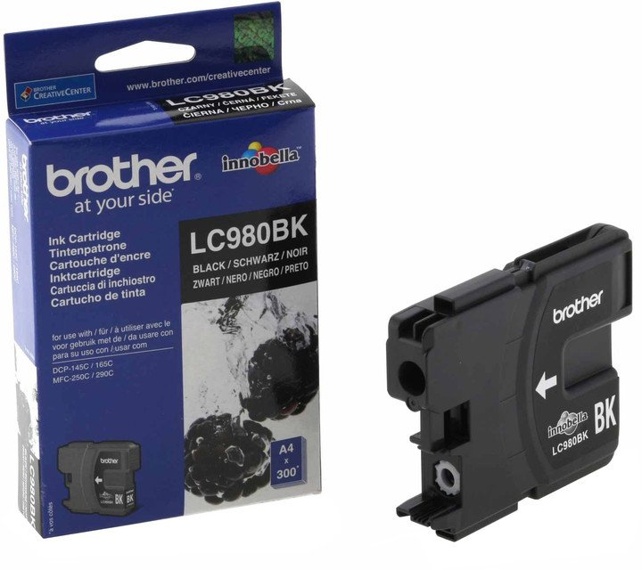 Brother LC-980BK, černá