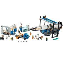 LEGO City 60229 Montáž a přeprava vesmírné rakety  + Voucher na slevu 300 Kč na další nákup v hodnotě nad 3000 Kč (max. 1 ks, který získáte při objednávce nad 499 Kč)