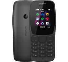 Nokia 110, Black - 16NKLB01A02