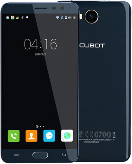 CUBOT Cheetah 2 32GB, modrá