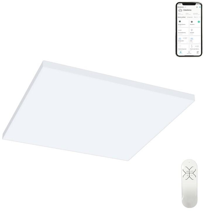IMMAX NEO PLANO Smart stropní svítidlo 60x60cm 40W bílé 2800lm Zigbee 3.0