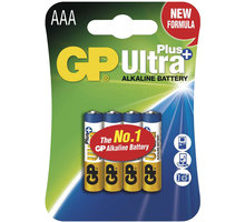 GP AAA Ultra Plus, alkalická 4ks - 1017114000