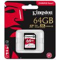 Kingston SDXC Canvas React 64GB 100MB/s UHS-I