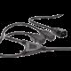 PremiumCord kabel síťový 230V, Y-kabel prodlužovací M-2x F