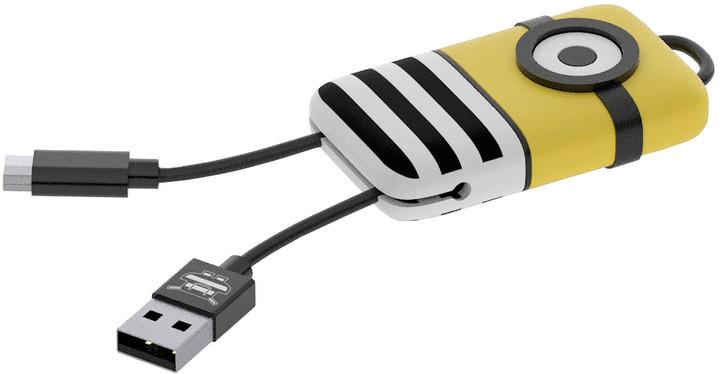 Tribe Minions Jail Time Minion USB Keyline přívěšek na klíče (22cm) - Žlutý