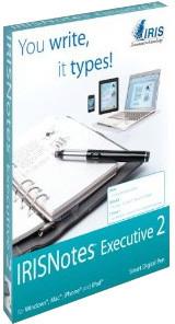 IRIS ruční skener Notes Executive 2 - tužka
