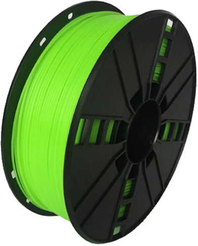 Gembird tisková struna (filament), nylon, 1,75mm, 1kg, zelená