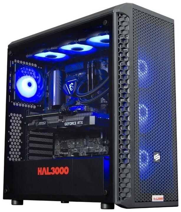 HAL3000 Master Gamer Elite-K 3070 Ti (11.gen), černá
