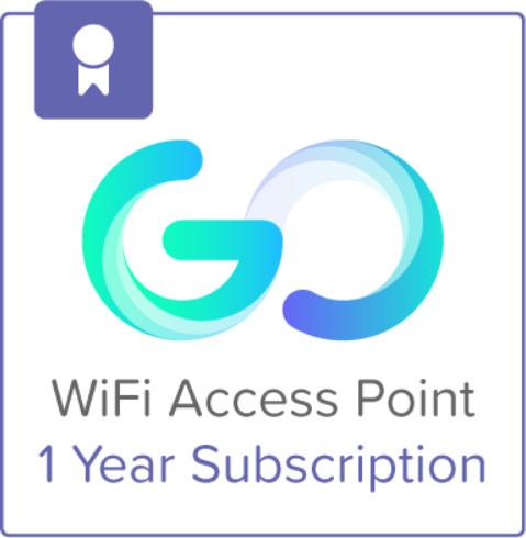 Cisco Meraki Go, Licence na předplatné (1rok) + 1 Year Hardware Warranty pro 1 přístupový bod
